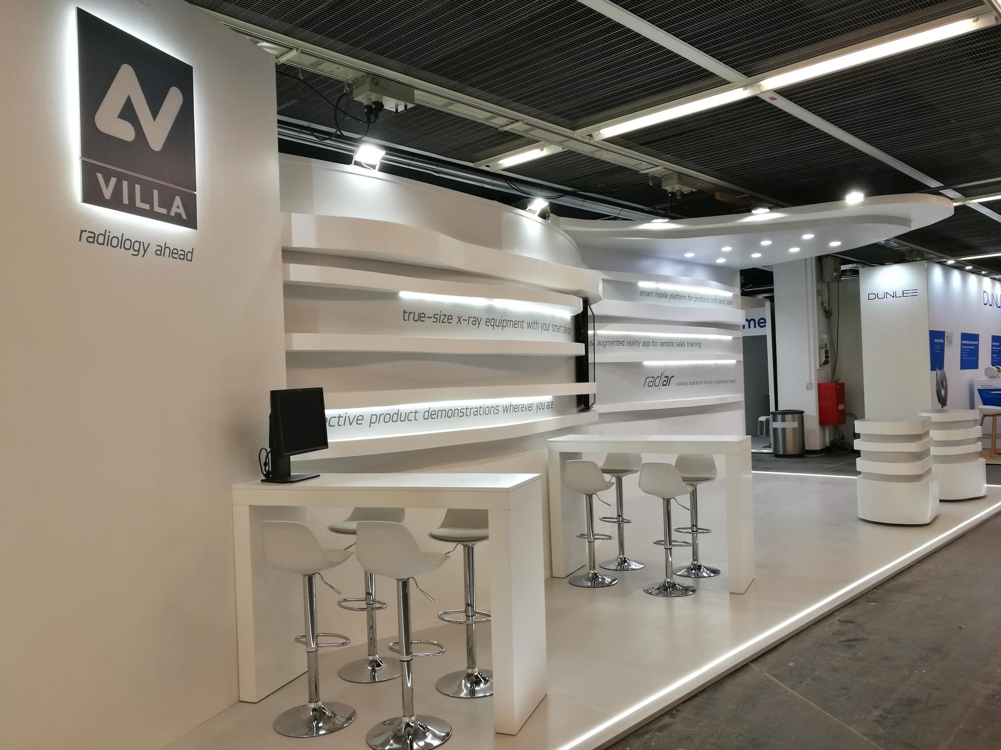 stand villa sistemi medicali ecr
