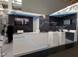 stand aircom hannover messe